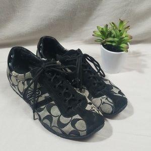 Coach Katelyn Signature C Canvas Sneakers Size 8M